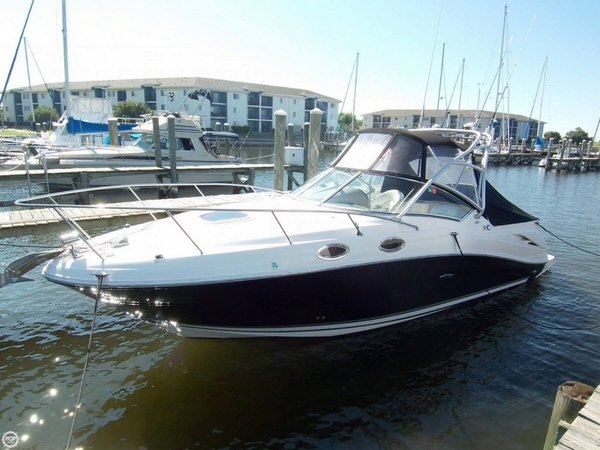 Used Sea Ray 270 Amberjack 27 Express Cruiser Boat For Sale