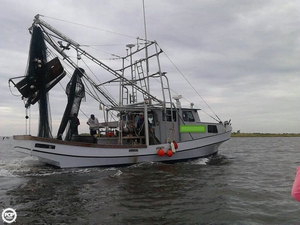 Used Glass Bay 42 Shrimp Boat Commercial Boat For Sale