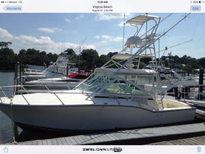 Used Carolina Classic 32 Express (305 hours!) Sports Fishing Boat For Sale