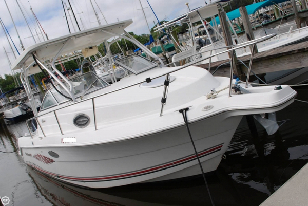 Used Wellcraft 250 Coastal Walkaround Fishing Boat For Sale