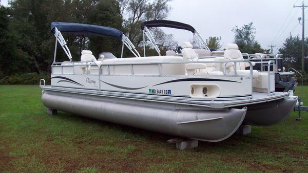 Used Odyssey Pontoons 725CL Pontoon Boat For Sale