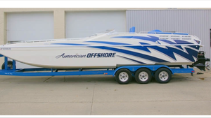 Used American Offshore 3100 Cat High Performance Boat For Sale