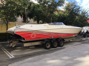 Used Fountain 38 Lightning High Performance Boat For Sale