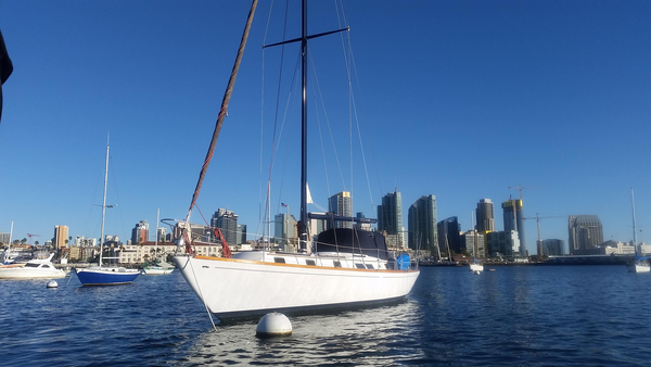 Used Gulfstar 50 Sloop Sailboat For Sale