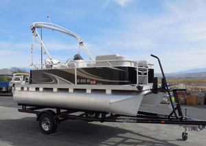 Used Qwest 7516 CR EDGE Pontoon Boat For Sale