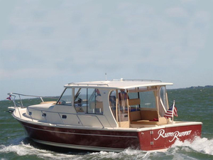 Used Mainship Pilot Rum Runner II Sedan Downeast Fishing Boat For Sale