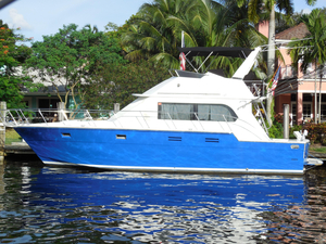 Used Hi-Star 44 Convertible Fishing Boat For Sale