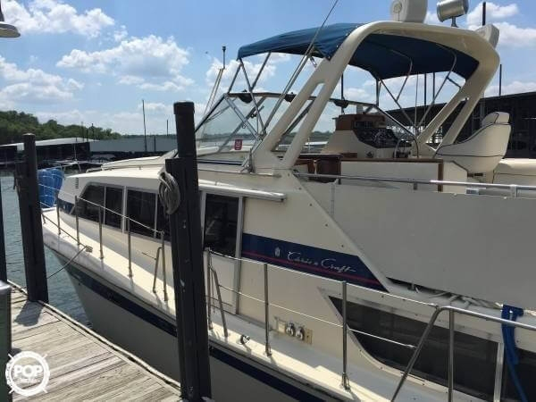 Used Chris-Craft 381 Catalina Express Cruiser Boat For Sale