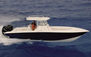 Used Fountain 34 Center Console Saltwater Fishing Boat For Sale
