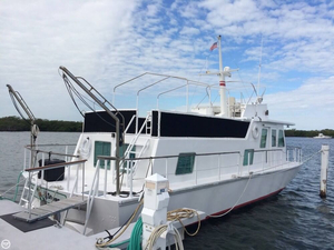 Used Alcoa 48 House Boat For Sale