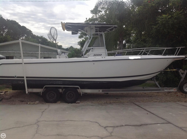 Used Century 3000 Center Console Fishing Boat For Sale