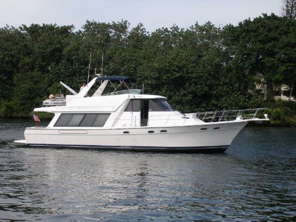 Used Bayliner 4788 Pilothouse Flybridge Boat For Sale