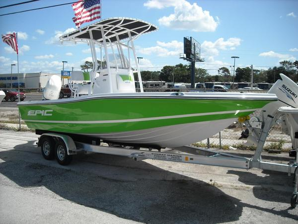 New Epic 22 Sport Console Center Console Fishing Boat For Sale