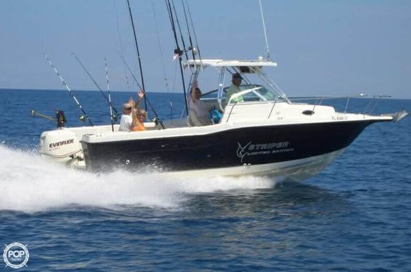 Used Seaswirl Striper 2600 WA Walkaround Fishing Boat For Sale