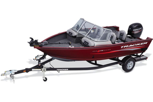 New Tracker Pro Guide V-175 Combo Aluminum Fishing Boat For Sale