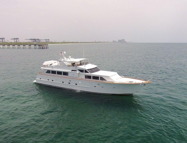 Used Broward Raised Pilothouse Motor Yacht Motor Yacht For Sale