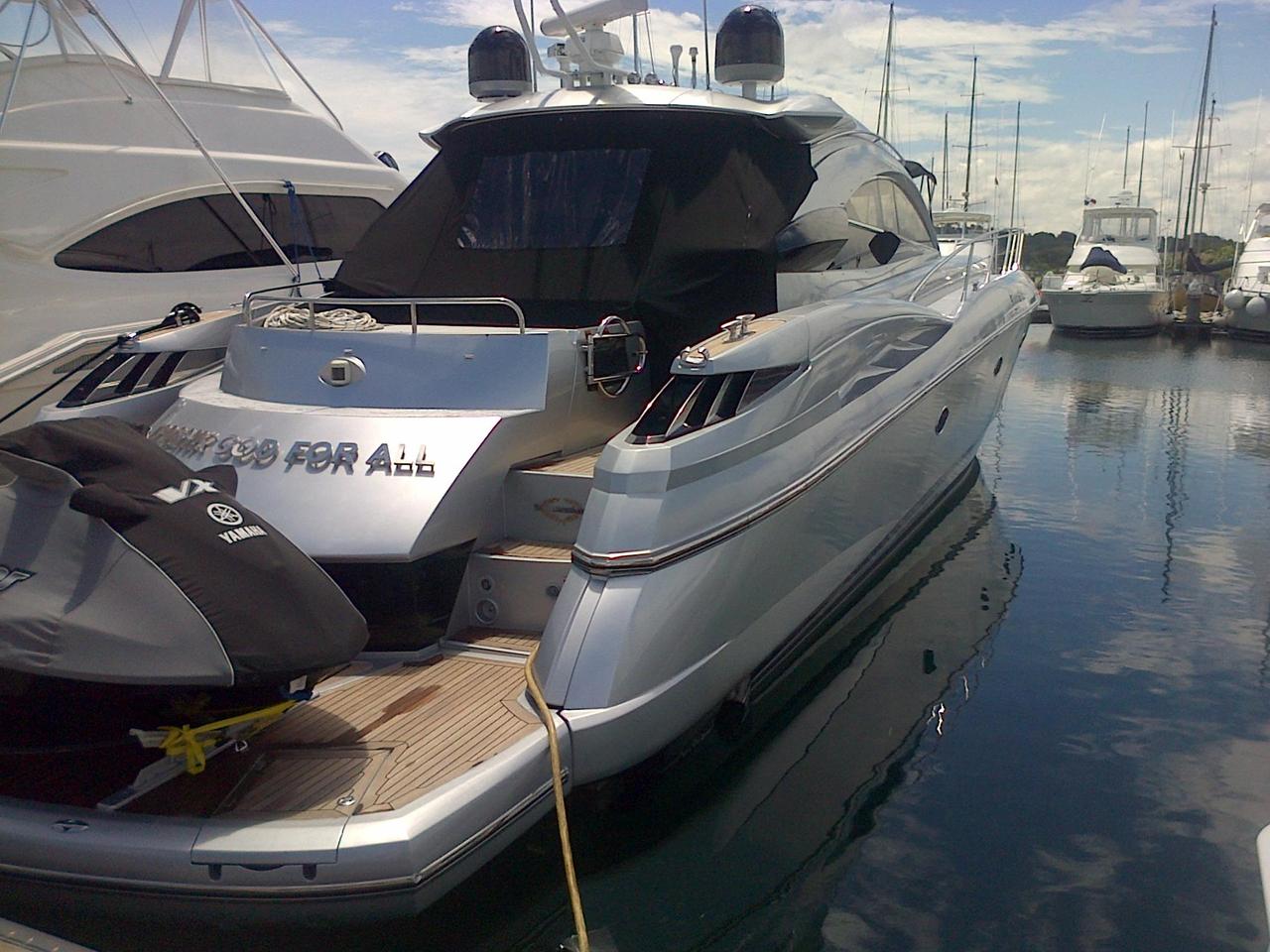 2003 used sunseeker predator 61 motor yacht for sale for Used boat motors panama city fl