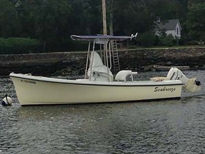 Used Seabreeze Center Console Fishing Boat For Sale