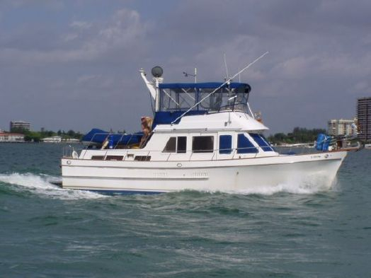 Used Ocean Alexander Double Cabin Motor Yacht For Sale