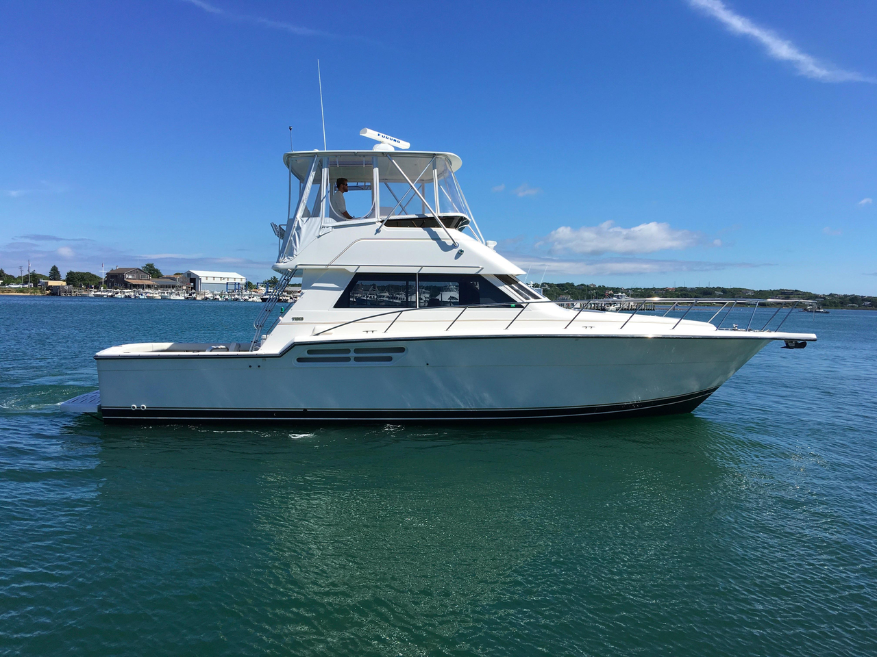 2000 Used Tiara 4300 Convertible Fishing Boat For Sale