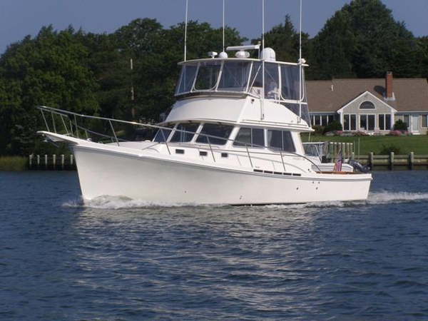 Used Nauset 38 Flybridge Sports Fishing Boat For Sale