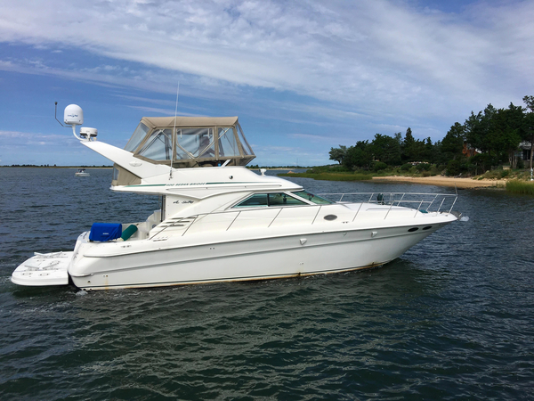 Used Sea Ray 400 Sedan Bridge Flybridge Boat For Sale