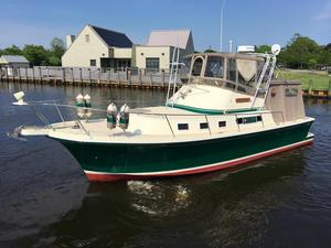 Used Albin 32 plus 2 Command Bridge Trawler Boat For Sale