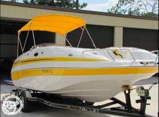 Used Ebbtide 2400 Mystique Deck Boat For Sale