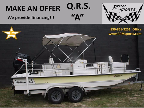 Used Baymaster Bravo 22 Bay Boat For Sale