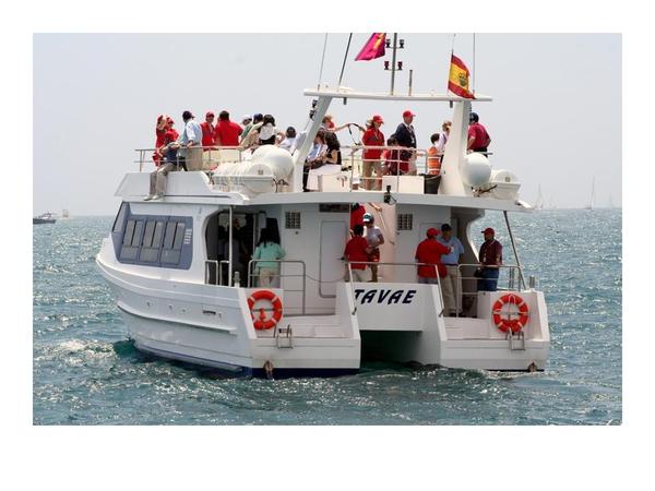 Used Custom Catamaran Passenger Boat For Sale