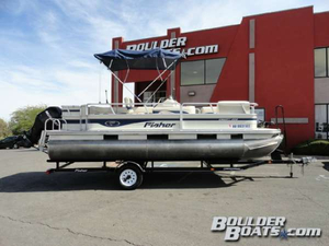 Used Fisher Pontoon Boat For Sale