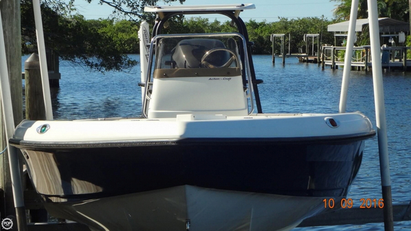 Used Action Craft 2002 Flats Pro Flats Fishing Boat For Sale