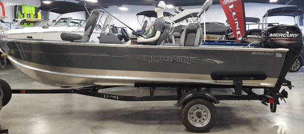 New Lund 1600 Fury SS Aluminum Fishing Boat For Sale