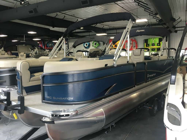 New Premier Sunsation RF 250 Pontoon Boat For Sale