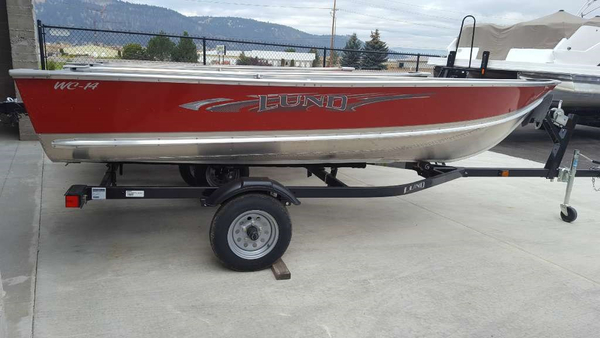 New Lund WC-14 Aluminum Fishing Boat For Sale
