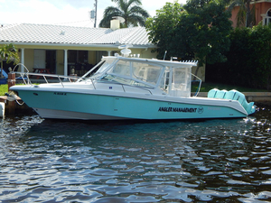 Used Everglades 350LX Cuddy Cabin Boat For Sale