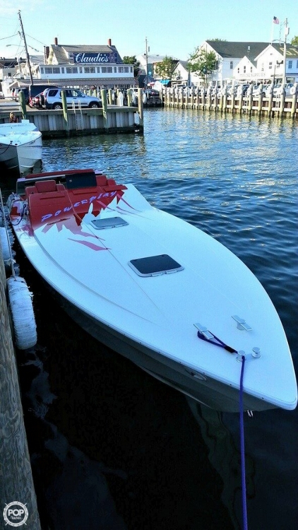 Used Power Play Sportdeck 33 High Performance Boat For Sale