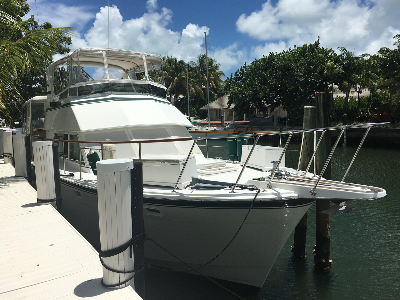 1984 used hatteras 48 motor yacht motor yacht for sale for Used motor yachts for sale in florida
