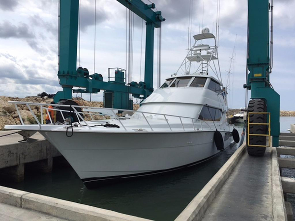 Used Hatteras Enclosed Flybridge Sports Fishing Boat For Sale