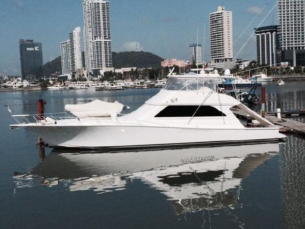 Used Viking Convertible 3412 Cats Sports Fishing Boat For Sale