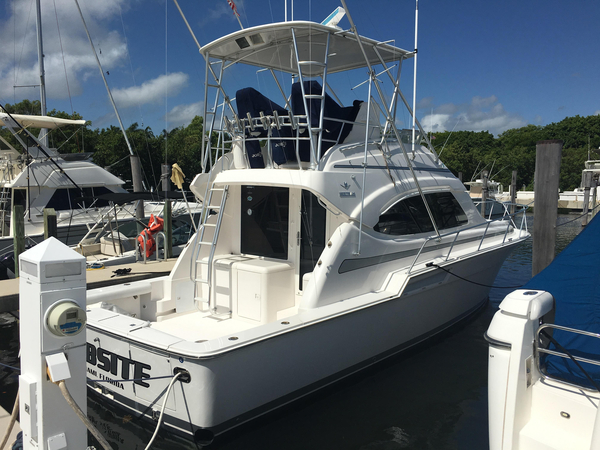 Used Bertram 390 Convertible Sports Fishing Boat For Sale