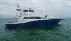 Used Sea Force Ix 81.5 Enclosed Bridge Convertible Fishing Boat For Sale