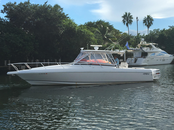 Used Intrepid 377 Walkaround Cruiser Boat For Sale