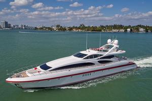 Used Mangusta 130 Flybridge Boat For Sale