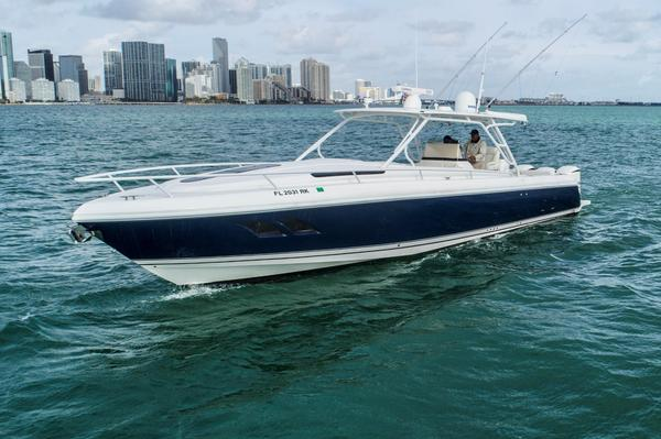 Used Intrepid 40 Cuddy Loaded Center Console Fishing Boat For Sale