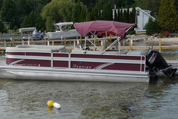 Used Premier 240 SunSation Pontoon Boat For Sale