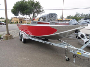 New North River 20' Scout Aluminum Fishing Boat For Sale