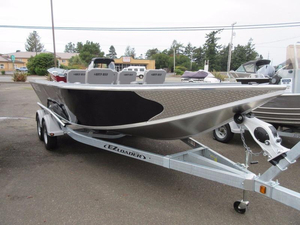 New North River 21' Scout Aluminum Fishing Boat For Sale