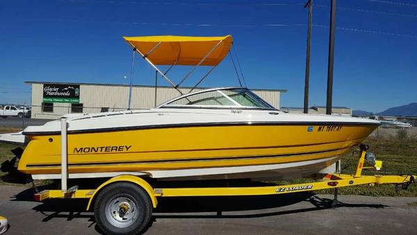 Used Monterey 180 FS Bowrider Boat For Sale