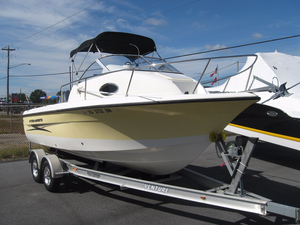 Used Hydra-Sports 212 WA Saltwater Fishing Boat For Sale